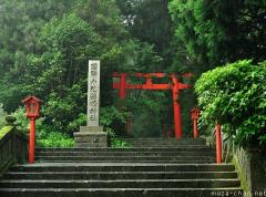Hakone, shrine in the forest