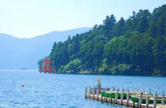 The great torii of Hakone