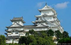 Himeji-jo, the only Japanese castle registered as World Heritage