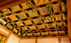 Japanese traditional architecture, Coffered ceiling