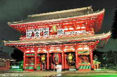 Hozomon Gate Night View