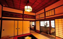 Masterpieces of Japanese traditional architecture, Chofu Mori Residence interior