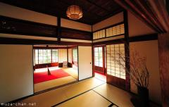 A traditional house worthy of the Emperor, Chofu Mori Residence