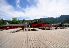 Itsukushima Shrine stages