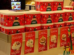 Japanese Christmas cake and a bit of history