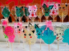 Japanese Hello Kitty lollipops