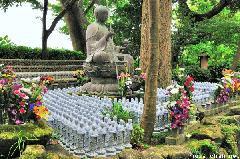 Hundreds of Jizo