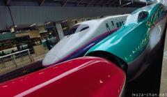 JR East Shinkansen trains