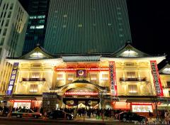 Old and New Architecture in Tokyo, the new Ginza Kabuki theater