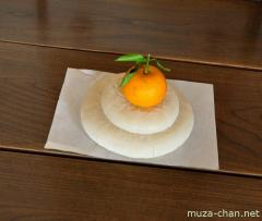 Japanese New Year Decoration, Kagami-mochi
