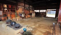 Inside the traditional Japanese house, Kamado stove