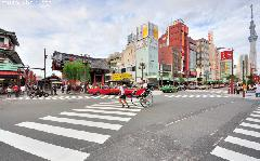 Asakusa Scramble Crossing