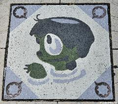 Kappabashi Pavement Decoration