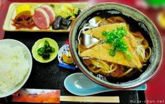 Popular Japanese food, Kitsune Udon and a bit of culinary history