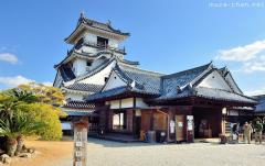 The only Japanese castle with all the original core buildings