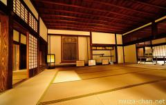 Interior of a samurai school, Mito Kodokan