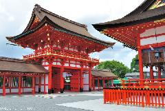Old Japanese Stories, the legend of Fushimi Inari Taisha