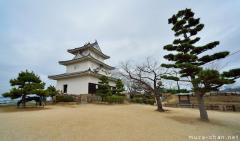 Original Japanese castle, Marugame castle