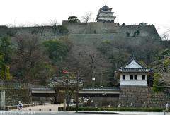 Japanese castle architecture, the tallest stone walls