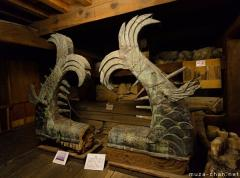 Japanese superlatives, the tallest wooden Shachi roof ornaments