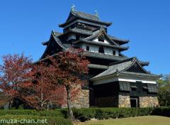 National Treasures of Japan, Matsue Castle tenshu and tsukeyagura