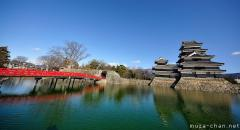 Oldest original black castle in Japan