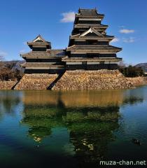 Matsumoto Castle reflection