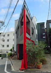 Japanese Narrow Buildings Photo 24, modern house in Tokyo