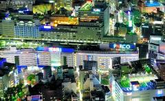 Ikebukuro bird's-eye night view, the first Parco store
