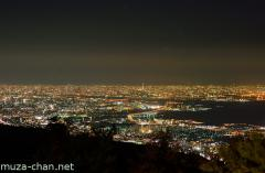 View from Mount Rokko Observatory