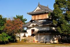 The Okayama Castle original surviving tower