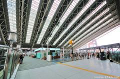 Japanese modern architecture, Osaka station glass roof