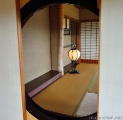 Kobuntei elegant round window