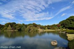 Simply beautiful Japanese scenes, Rikugi-en wide angle view