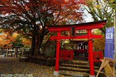 Simply beautiful Japanese scenes, autumn leaves at Saruhashi