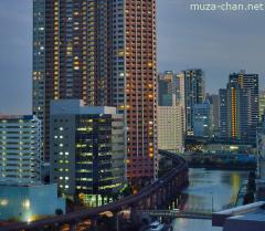 Shibaura night view