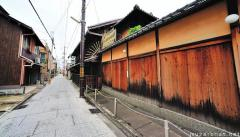 Shimabara, old courtesan district of Kyoto