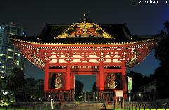 Daitoku-in Mausoleum Somon Gate Night View