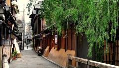 Japanese traditional street in Gion, Kyoto