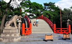 Taikobashi arched bridge
