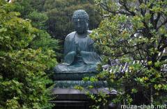 The 300 years old Great Buddha of Tenno-ji, Yanaka, Tokyo