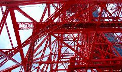 Steel Lace at Tokyo Tower