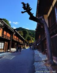 Tsumago-juku, one of the best-preserved towns in Japan
