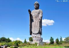 The third tallest statue in the world, Ushiku Daibutsu