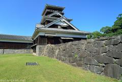 Surviving Japanese castles, the Uto yagura of Kumamoto Castle