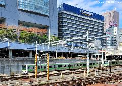 New Yamanote line station