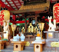 Shinto Shrine, Gohei
