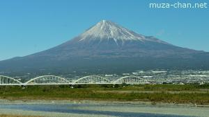The 3000th Japan Photo per Day - Snow on Mount Fuji