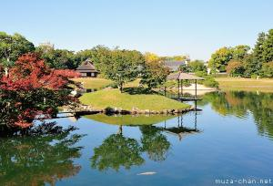 Simply beautiful Japanese scenes, Serene scenery in Koraku-en