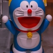Life-sized Doraemon statue at Tokyo Anime Center